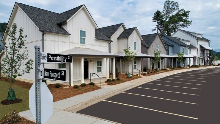 Prospect Cullowhee offers new possibilities in student living with our charming cottages and townhomes.